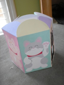 Lucky Cat Box assembled