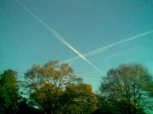 Happy contrails to you
