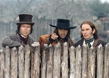 Left to right: Autry, Seguin, Crockett