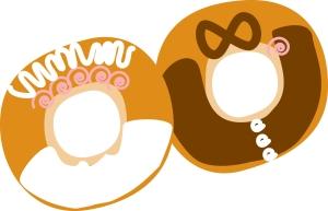 Bride n' Groom donuts