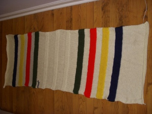 Five feet of knitty goodness