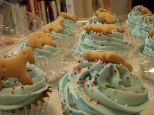 Impatient baby cupcakes