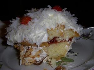 Birthday cupcake mushroom