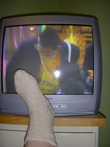 """Game show contestant says """"Wha...sock!"""""""