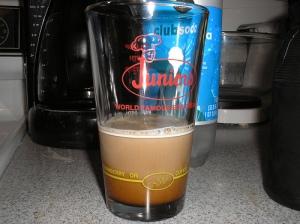 Syrup + milk