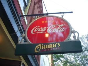 Soda Shop Sign