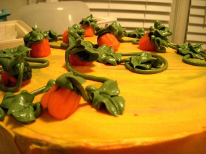 Some pumpkins.