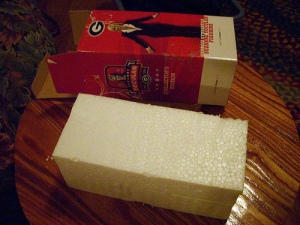 Styrofoam packing! It must be fra-jeel-ay!