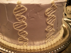 DNA of cake