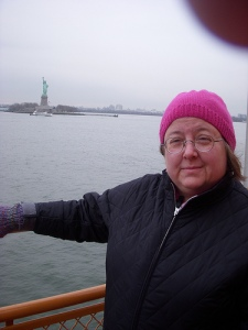 Staten Island Ferry in the cold