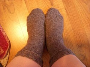 """Peg """"Two Socks"""" of Tilling"""