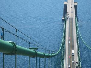 White bridge green cable go state!